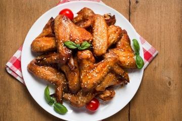 Teriyaki Style Chicken Wings